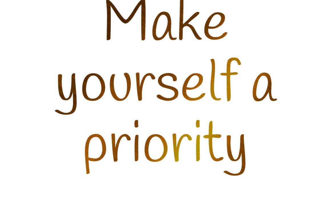 Make-yourself-a-priority